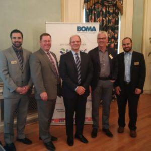 BOMA Executives & Jeff Fielding
